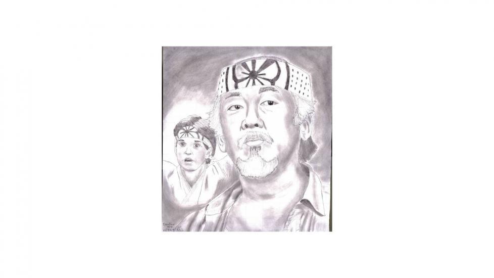 2013 The Karate Kid Sketch