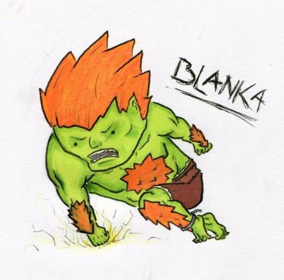 Blanka - Chibi
