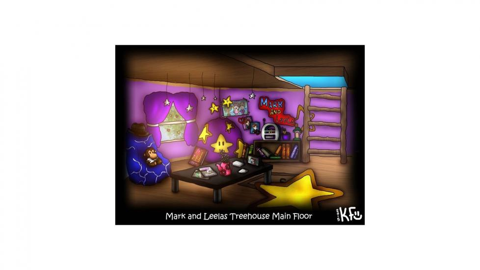 2015 Mark and Leelas TreeHouse Main Floor