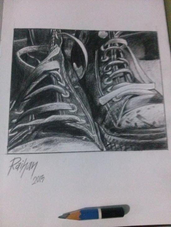 Take a walk in my shoes, it's not easy as it look