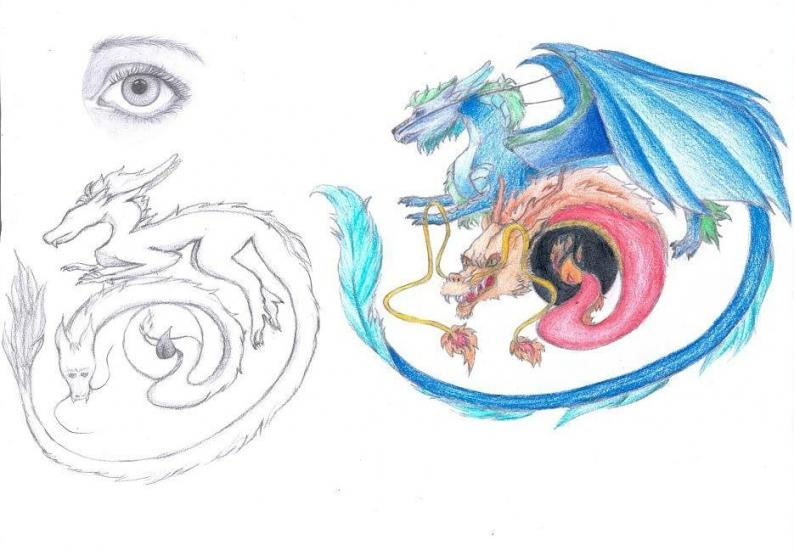 Dragons in my eyes