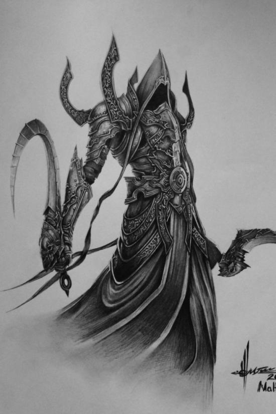 Diablo III Malthael