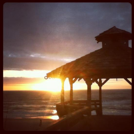 Sunrise in the Outer Banks
