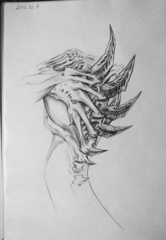 StarCraft II art work