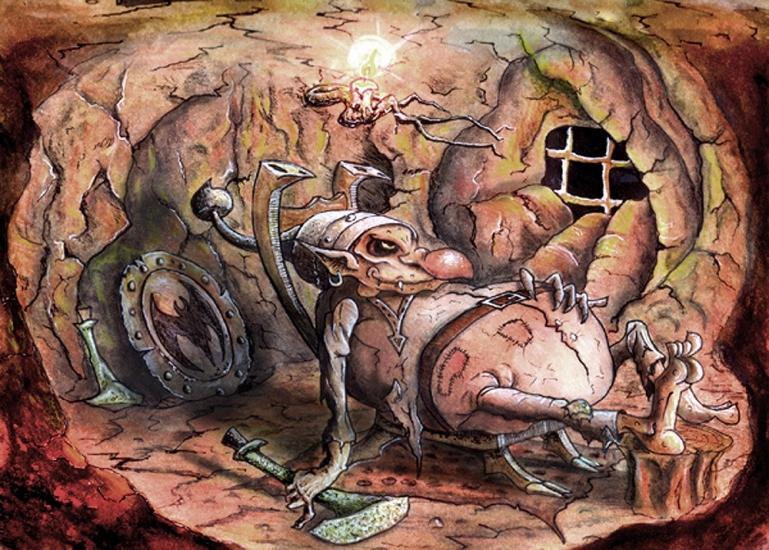 Trolls cave