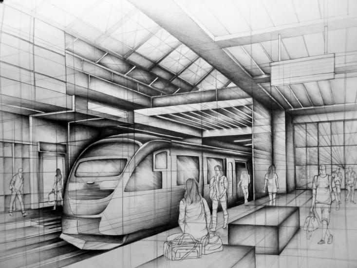 Subway station-project