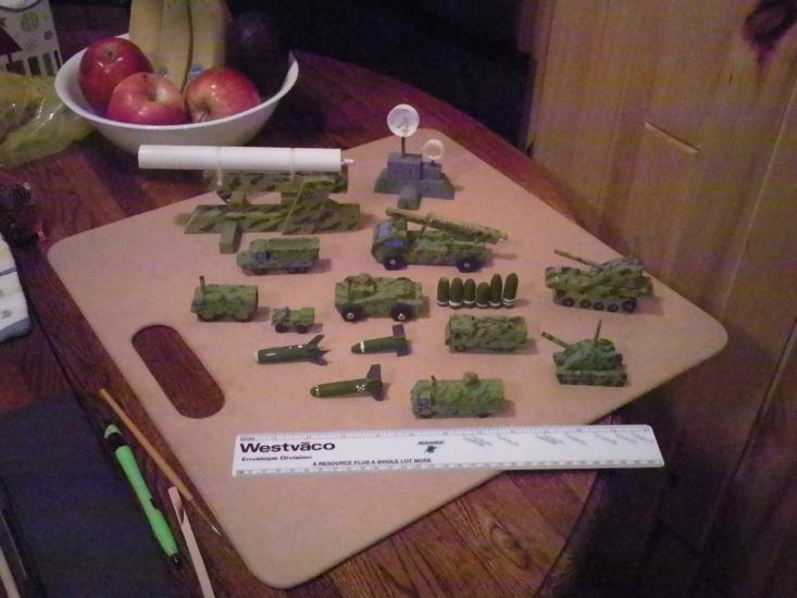 Wooden Army Play Set...