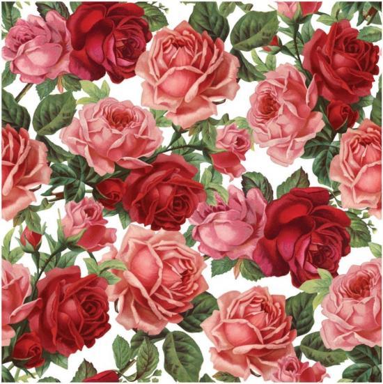Rose Seamless Pattern 1