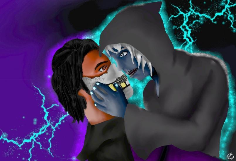 A reaper kiss of death