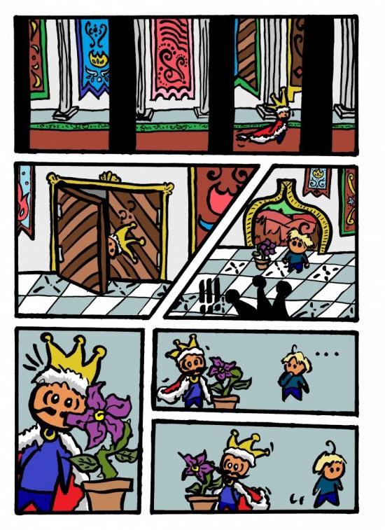 EL REY SOLO (The Lonely King) - Page 4