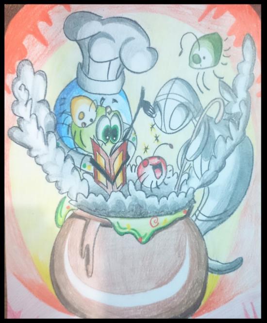 Marciano cocinando