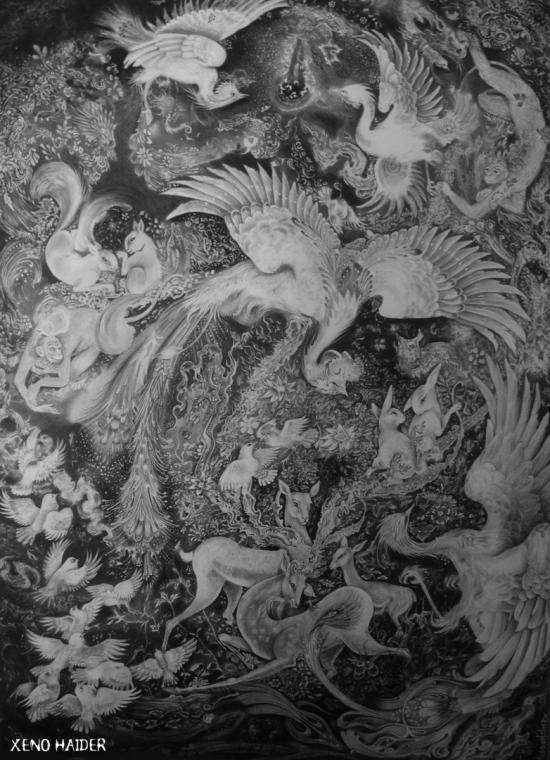 Percian Painting  (Drawing)