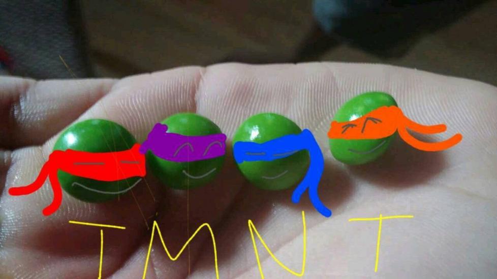 Teenage Mutant Ninja...Skittles?