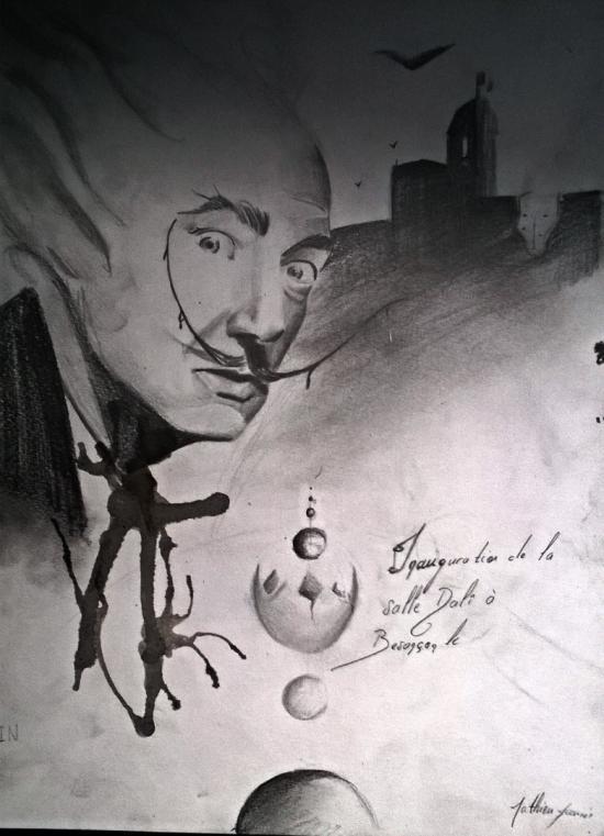 dessin d'art appliqué pour le bac sur Dali