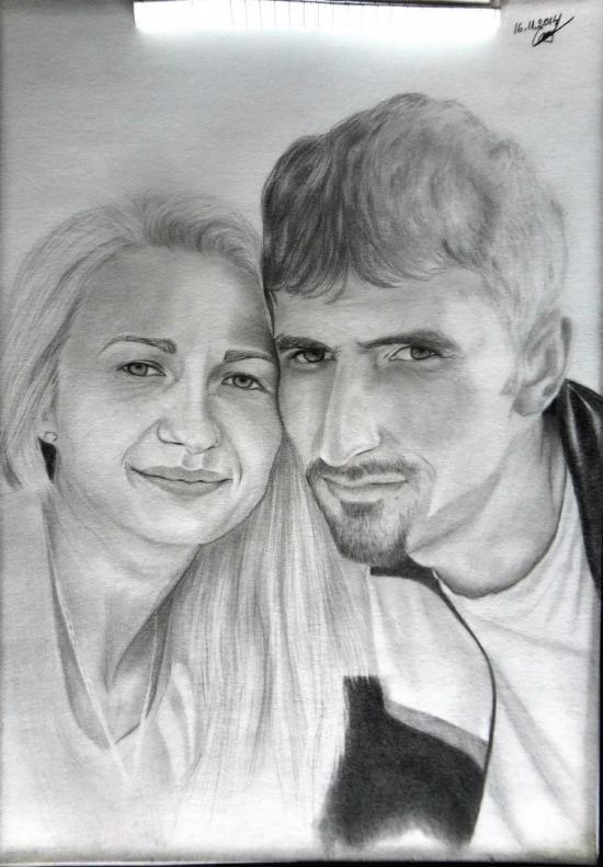 2 friends of mine portrait