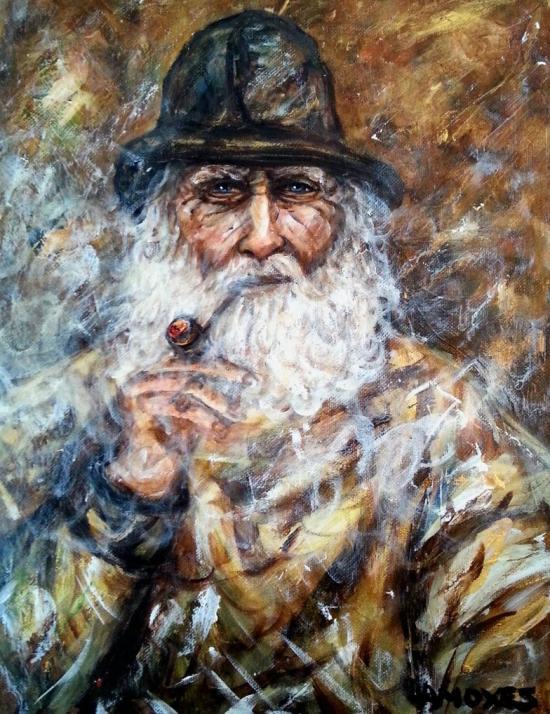 The old Acadian Fisheman