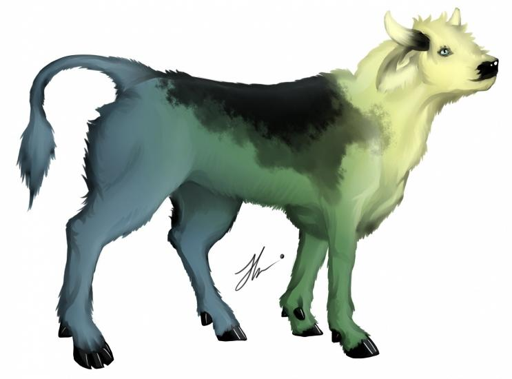 Forest cow