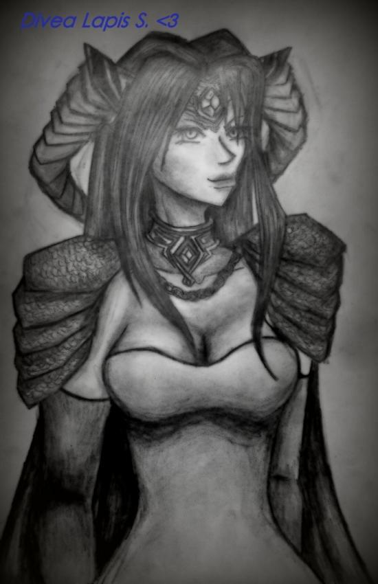Liesbeth d'Asaya - The Dragon's Queen