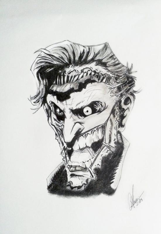 The Joker without face