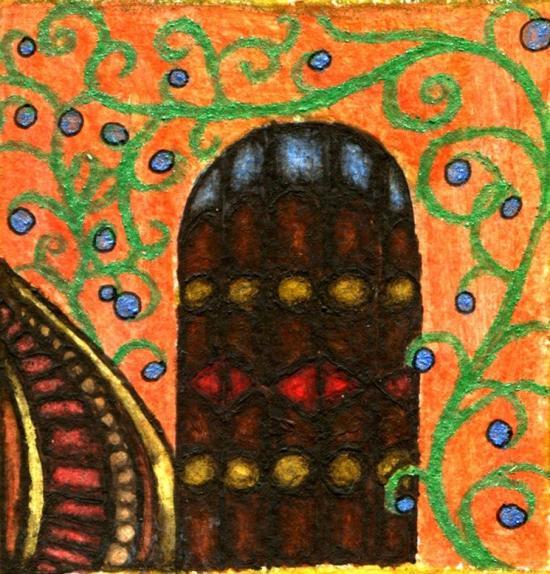 Croatian Manuscript-The Colored Doors of Oak