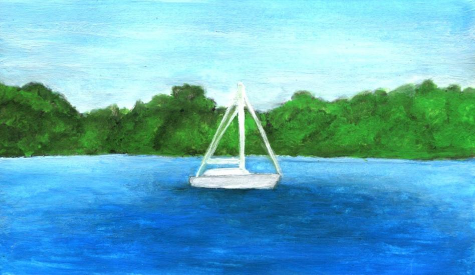 Croatian Manuscript-White Sail
