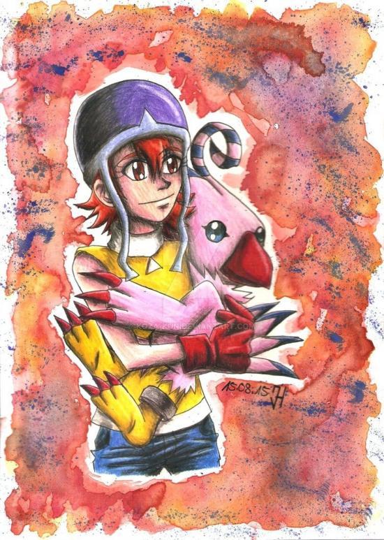 Sora & Biyomon