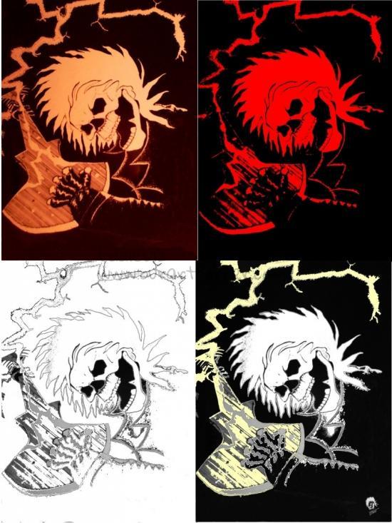 Ax Grinder 4 versions