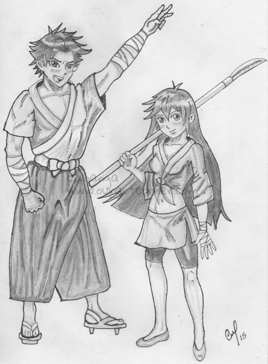 Samurai kids OC