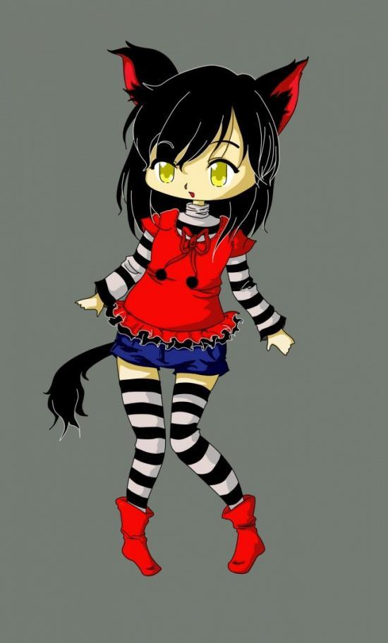Chibi Neko Girl 01