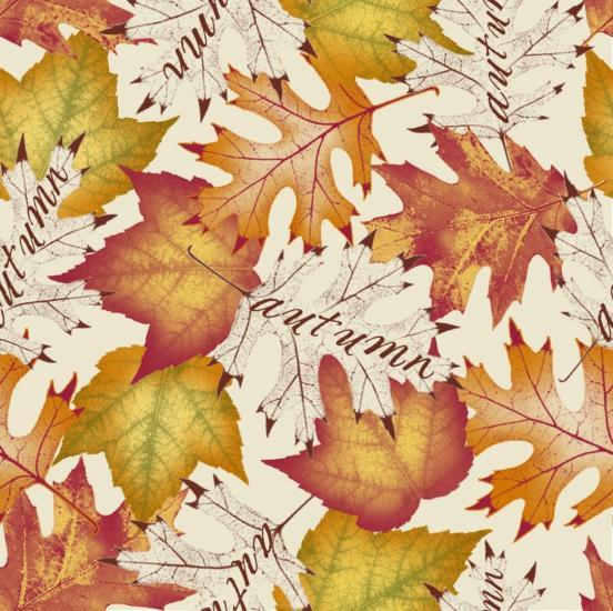 Seamless Autumn Print