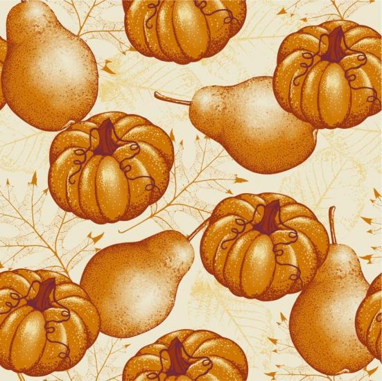 Seamless Autumn Print 2