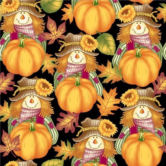 Seamless Autumn Print 4