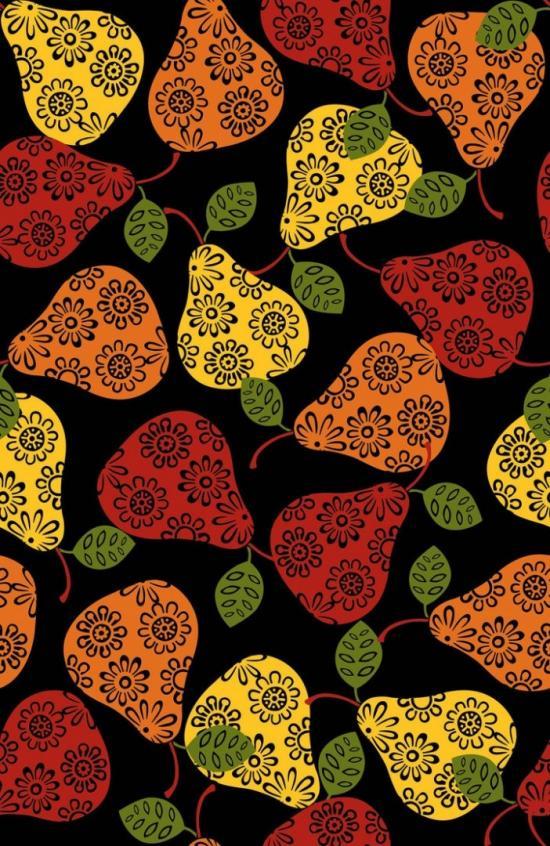 Seamless Autumn Print 3