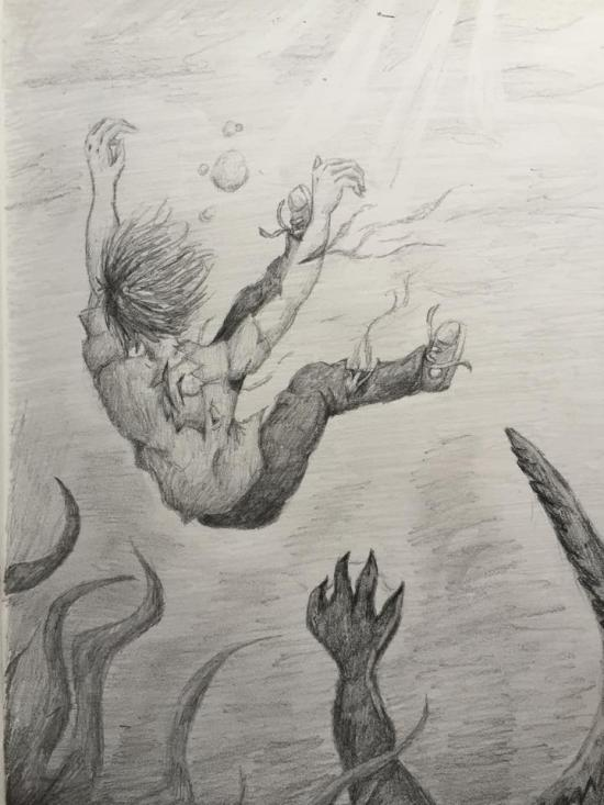The boy who drowned