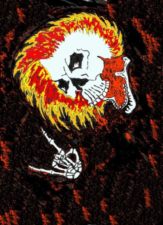 Metal skull 2