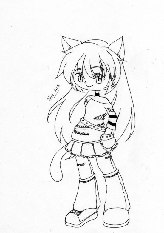 Chibi Neko Girl 02