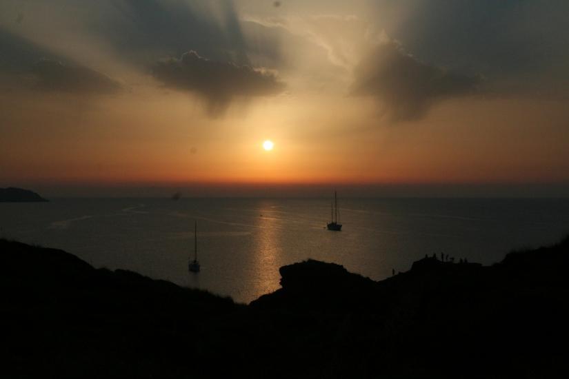 Sunset on Menorca