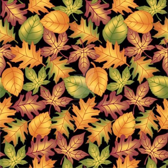 Seamless Autumn Print 8