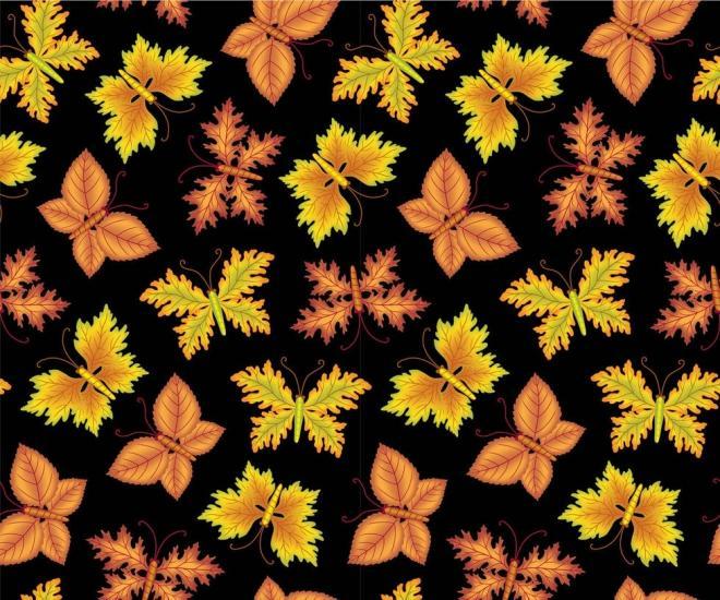 Seamless Autumn Print 9
