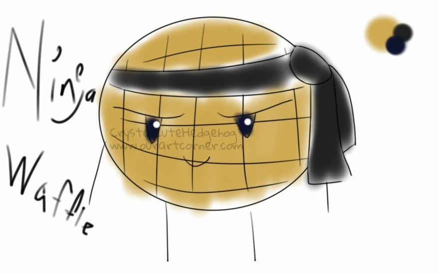 Ninja Waffle ref