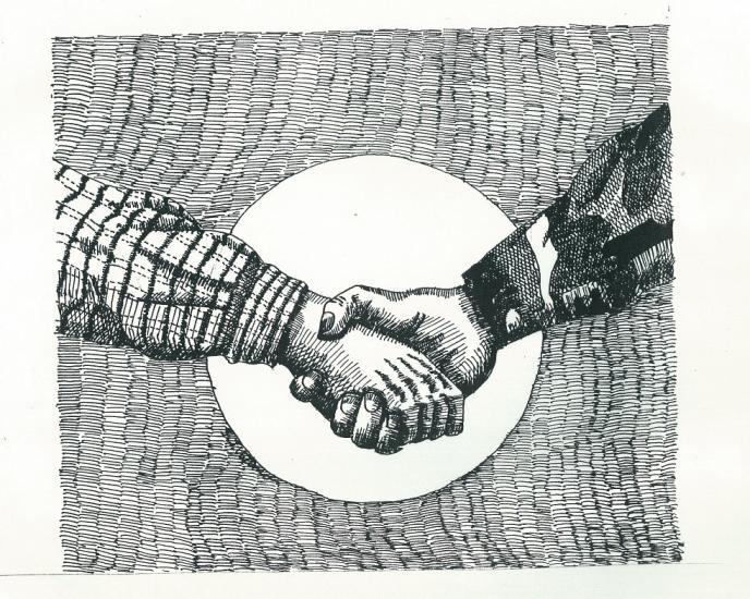 The Hand Of Fellowship