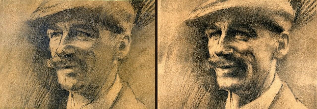 Peaky Blinders/Arthur Shelby.