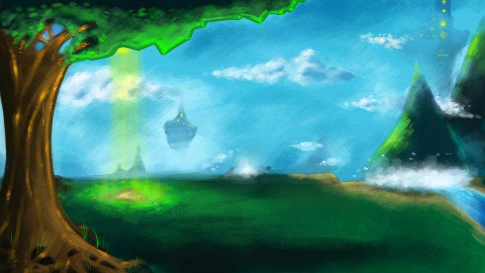 Fantasy Landscape 01