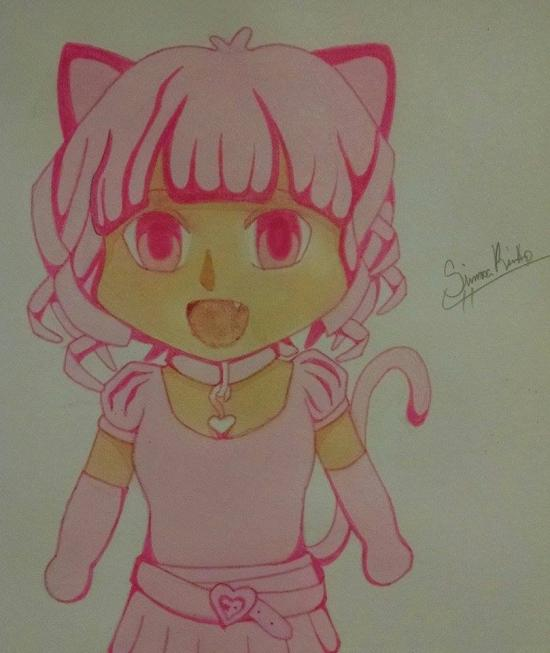 Super Kawaii Magical Neko Girl