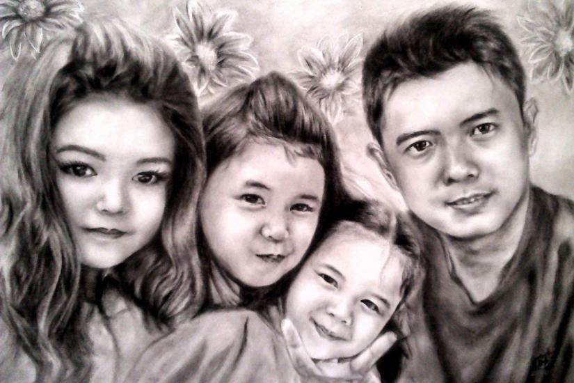 order, Family Portrait 3