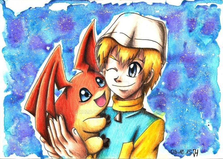 Takeru & Patamon