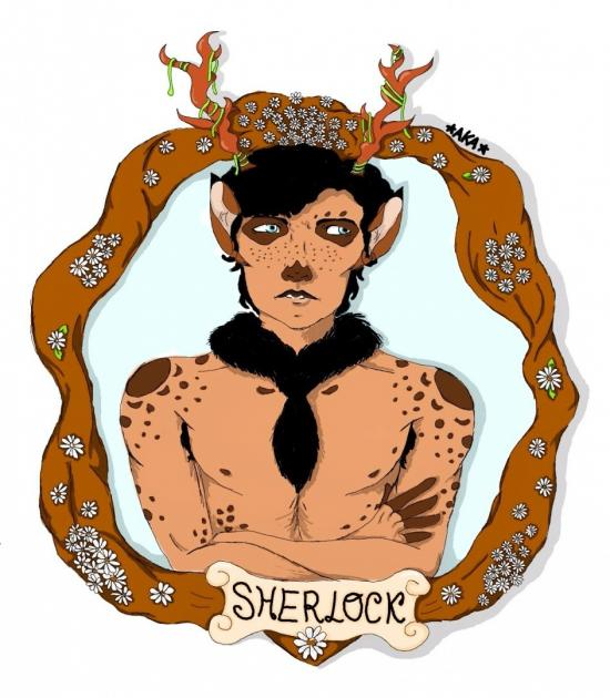Sherlock Holmes is a fawn