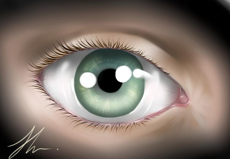 Just a eye