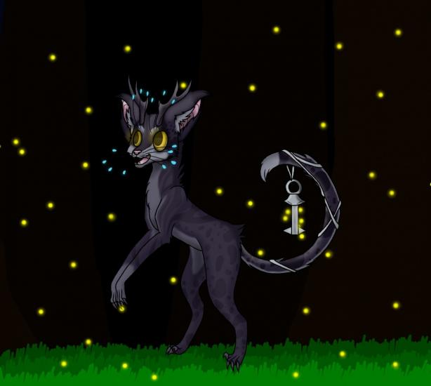 Commission: Chasing Fireflies