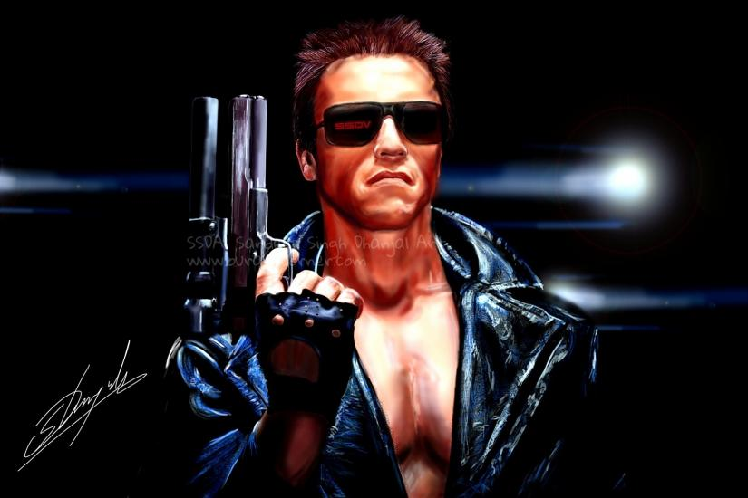 Arnold Schwarzenegger, The Terminator.